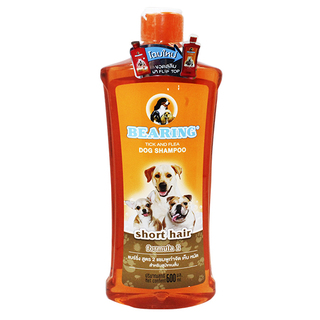 Bearing 600ml Short Hair Tick and Flea Dog Shampoo