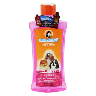 Bearing 300ml Small Breeds Tick and Flea Dog Shampoo