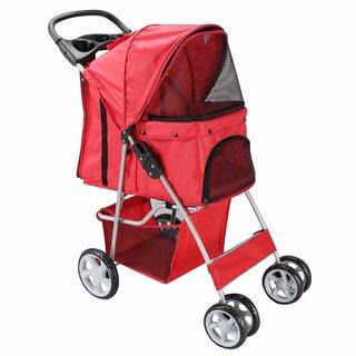 4-Wheel Pet Dog Stroller PS4-002