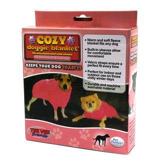 Cozy Doggie Medium Pet Blanket COZY-PINK-MED