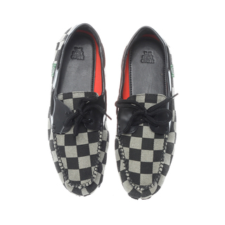 The Shoe Cycle Mens Topsider Domino Black