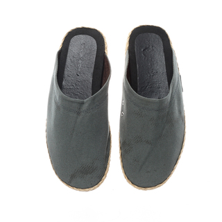 The Shoe Cycle Mens Espadrille Half Shoes Grey
