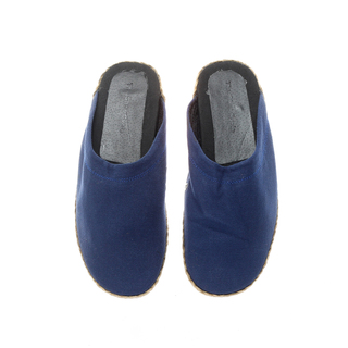 The Shoe Cycle Ladies Espadrille Half Shoes Blue