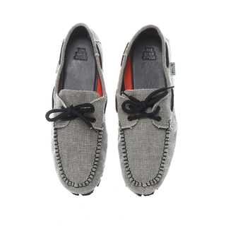 The Shoe Cycle Mens Topsider Grey