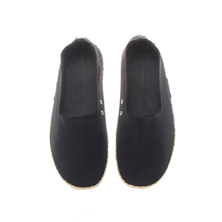 The Shoe Cycle Ladies Espadrille Black