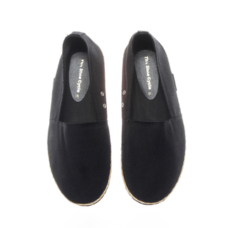 The Shoe Cycle Mens Espadrille Black