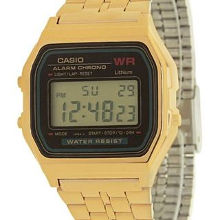 Casio Digital Watch A159WGEA-1DF Unisex Watch (Gold)