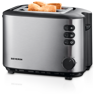 Severin Automatic Toaster - Stainless Steel Black (AT 2514)