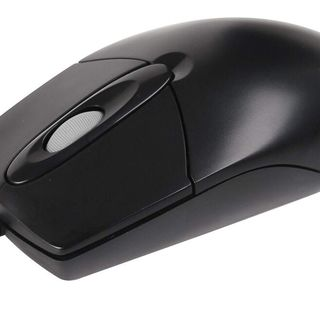 A4Tech OP-720 Optical USB Mouse (Black)