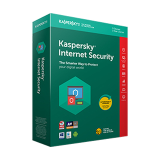Kaspersky Internet Security 5 Devices for 2-Year Protection - 2018 Edition