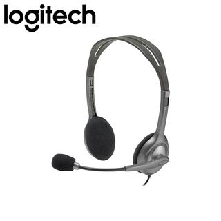 Logitech H110 Stereo Headset GREY