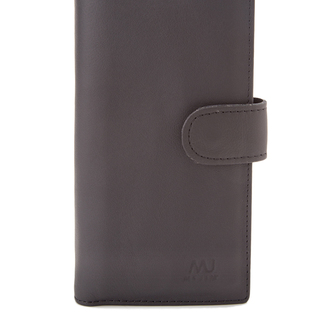 MJ BY MCJIM Leather Long Wallet with Detachable Cardholder