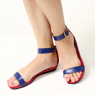 JAC&JAM FLAT STRAPPY SANDALS (O'FLAG) JSF1-110