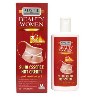 KUSTIE HOT RED SLIMMING CREAM 199ml