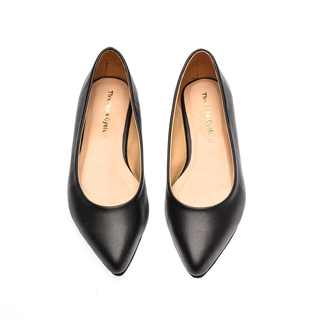 The Shoe Cycle Nixe Flats - Black (NIXE 001)