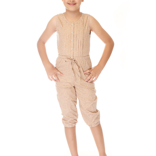 BASICS FOR KIDS GIRLS DRESS -BROWN (G904446 - G904456)