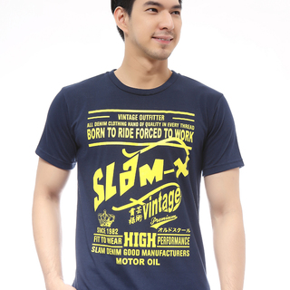 Slam Born To Ride T Shirt