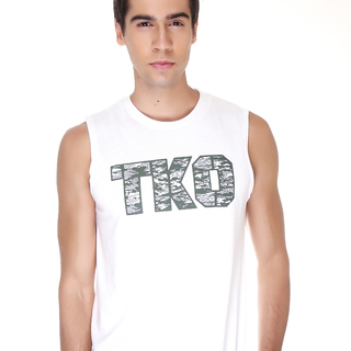 Tko Tko Camo Gray Muscle Shirt