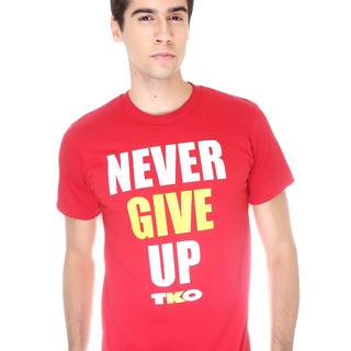 Tko Never Give Up T Shirt