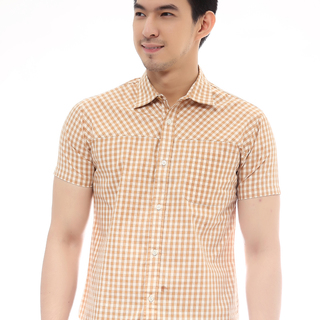 Aware and Present LOUIE Mens Shirt Short Sleeves