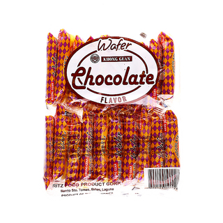 Khong Guan Chocolate Wafer (WCS-20) 20 packs x 1 bag [Bundled of 4]