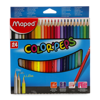 Maped Color'Peps Coloured Pencils 24's (24M-832246)