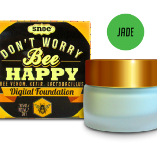 SNOE Don't Worry Bee Happy Digital Foundation in Jade
