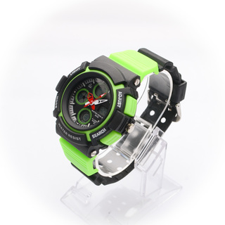 JC WATCH Unisex Digital Watch - Green and Black (11146629) *WITH FREE SUNGLASSES