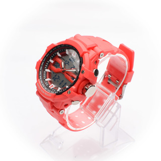 JC WATCH Unisex Digital Watch - Red (11146452) *WITH FREE SUNGLASSES