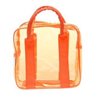 Cassey Kho Orange Transparent Bag - 120413