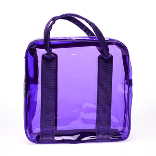 Cassey Kho Purple Transparent Bag - 120415