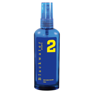 BLACKWATER SPORTS BODY SPRAY 100 ML - #2 BLUE