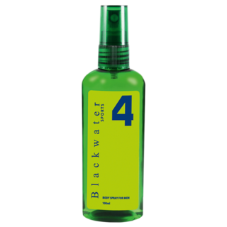 BLACKWATER SPORTS BODY SPRAY 100 ML - #4 GREEN