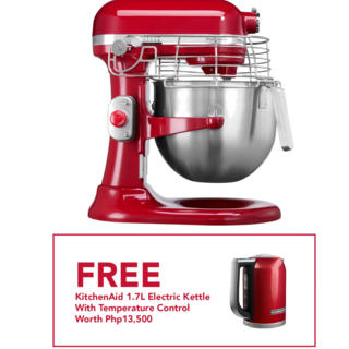 KitchenAid 7Qt Professional Stand Mixer Empire Red 5KSM7990XBER 220V