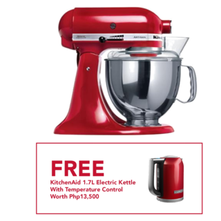KitchenAid 5Qt Artisan Stand Mixer Empire Red 5KSM150PSBER 220V
