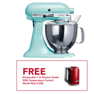 KitchenAid 5Qt Artisan Stand Mixer Ice Blue 5KSM150PSBIC 220V