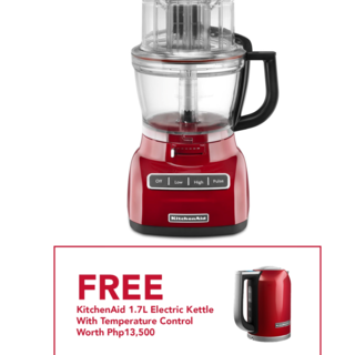 KitchenAid 13 Cup Food Processor Empire Red 5KFP1333GER  220V