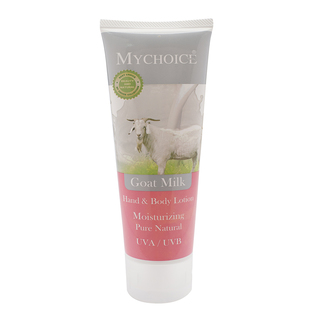 My Choice Hand & Body Lotion Goat Milk (100ml.)
