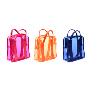 Cassey Kho Transparent Bag Bundle Deal 1 - Pink/Orange/Blue