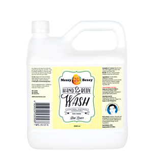 Messy Bessy Hand and Body Wash Kiwi Lemon 2 L