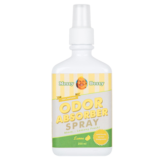Messy Bessy Odor Absorber Spray - Lemon Scent 200 ml