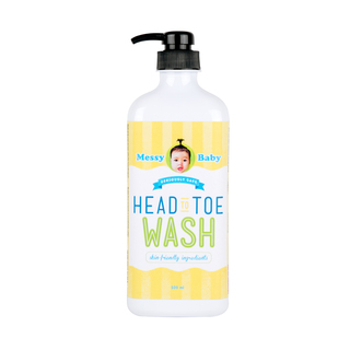 Messy Baby Head to Toe Wash 500 ml