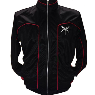 Track Jacket (Black/Red)