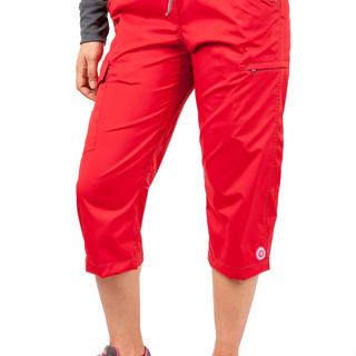 LAKAMBINI VIAJERA CAPRI PANTS (RED)