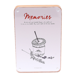 Artbox Memories Photo Frame (Clear - Light Brown)