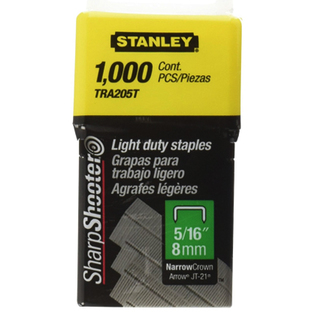 Stanley Light duty staples 8mm - Black & Yellow (STTRA205T)