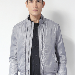 G2000 MEN'S JACKET SILVER GRAY