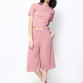 John and Frankie Store Old Rose Keeper Culottes (KEEPER OROSE.CULOTTES)
