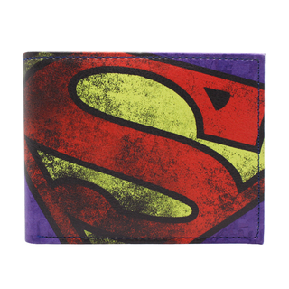 Karakter Leather Superman Wallet