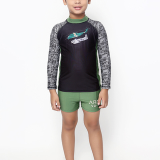 ROCK LOBSTER BOYS LONG SLEEVES RASHGUARD (0227)